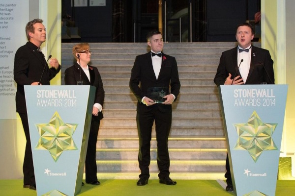 Pride House Wins at Stonewall Awards