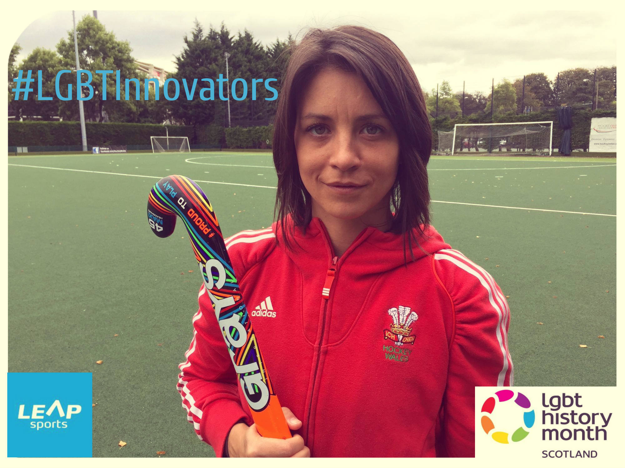 #LGBTInnovators - Welsh Hockey Player Beth Fisher