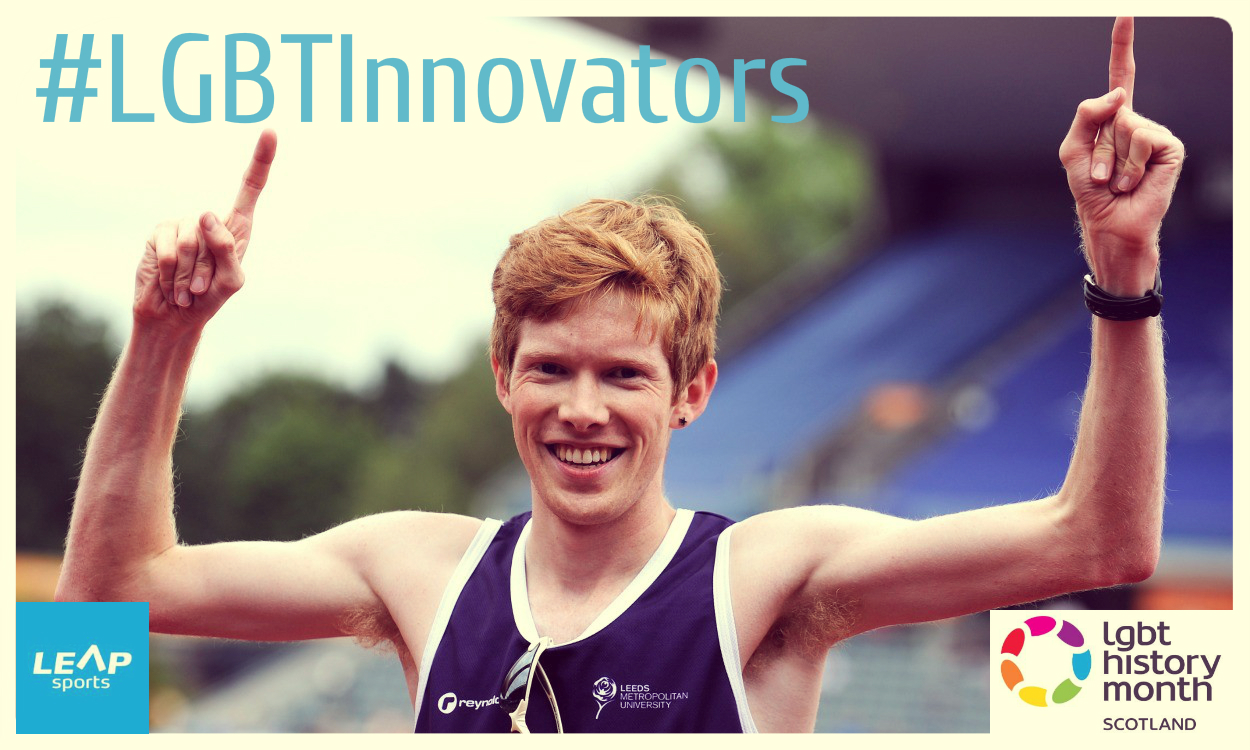 #LGBTInnovators - British Race Walker Tom Bosworth