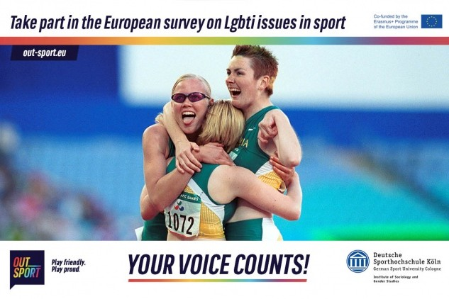 Outsport: new research survey on LGBTI issues in sport opens