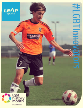 #LGBTInnovators - Footballer and LEAP Board Member Kat Lindner