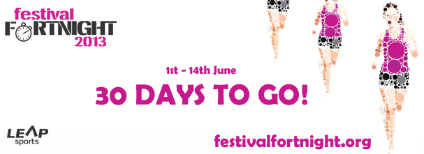 Festival Fortnight 30 Days To Go!
