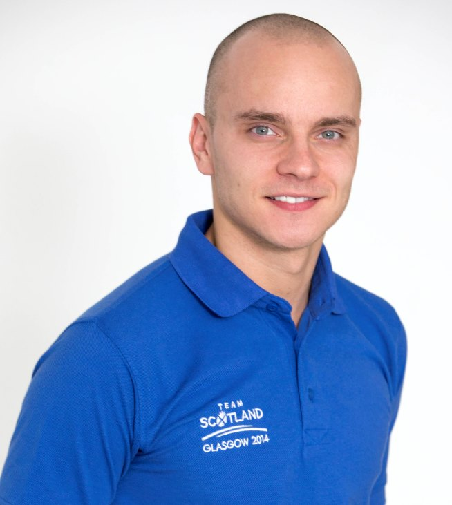 Team Scotland 2014 Swimmer Martin Cremin is announced as the first patron of LEAP Sports Scotland.