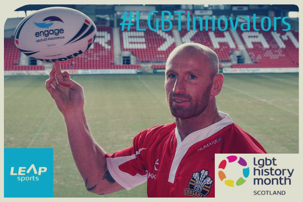 #LGBTInnovators - Rugby Player Gareth Thomas