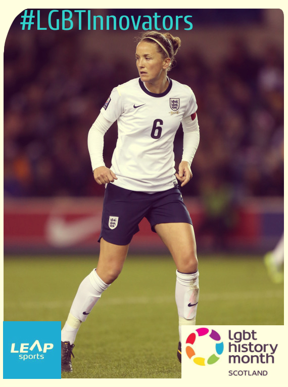 #LGBTInnovators - Footballer Casey Stoney