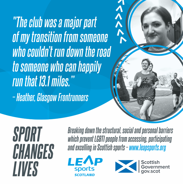 Sport Changes Lives... Heather's Story