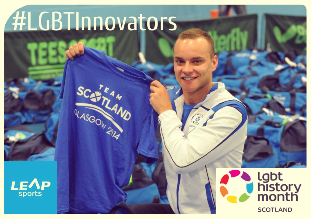 #LGBTInnovators - Scottish Former Swimmer & LEAP Sports Patron Martin Cremin