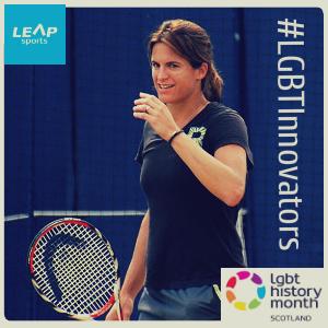 #LGBTInnovators - Former Tennis World No.1 Amélie Mauresmo