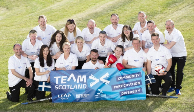 College supports Team Scotland for Gay Games