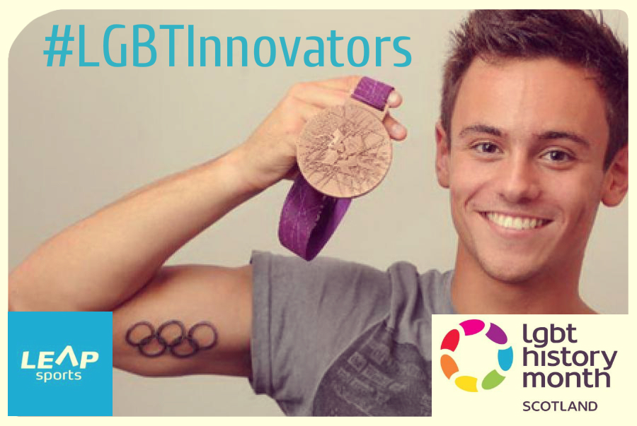 #LGBTInnovators - Diver Tom Daley