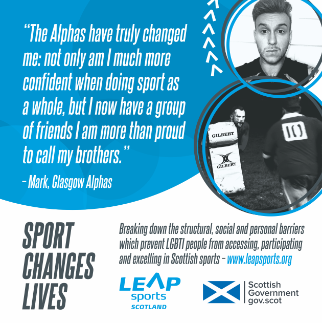 Sport Changes Lives... Mark's Story
