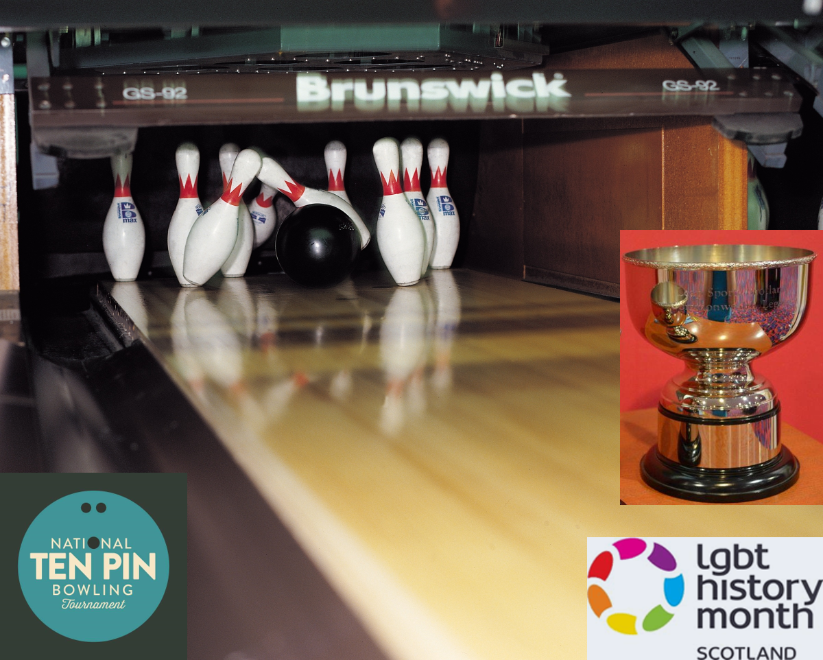 LGBT History Month 2017 ten-pin bowling