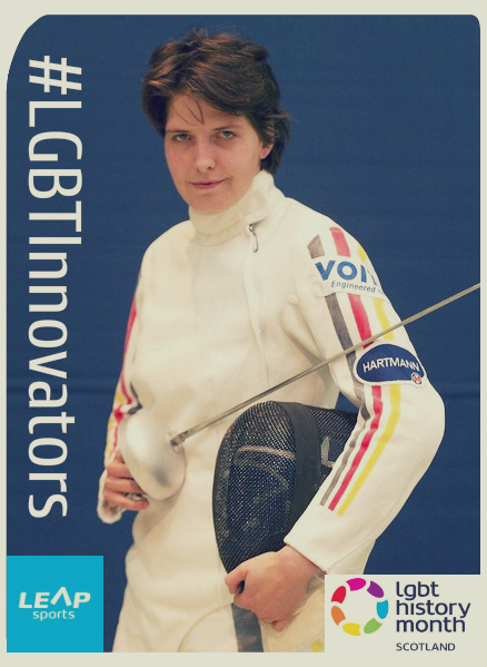 #LGBTInnovators - German Fencer Imke Duplitzer