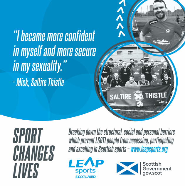 Sport Changes Lives... Mick's Story