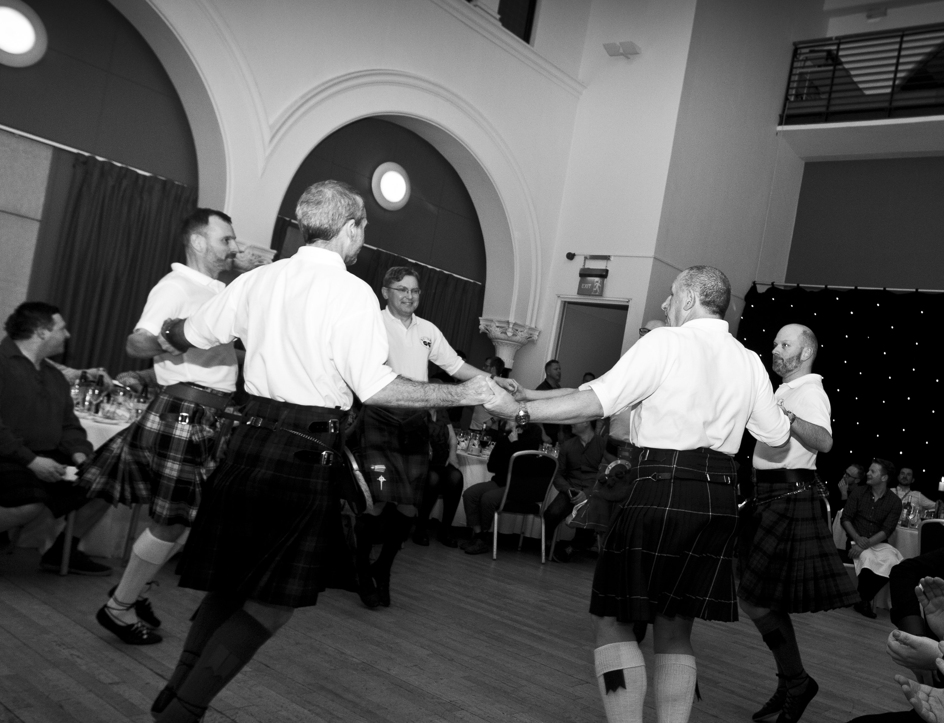 Scottish country dancing in schools