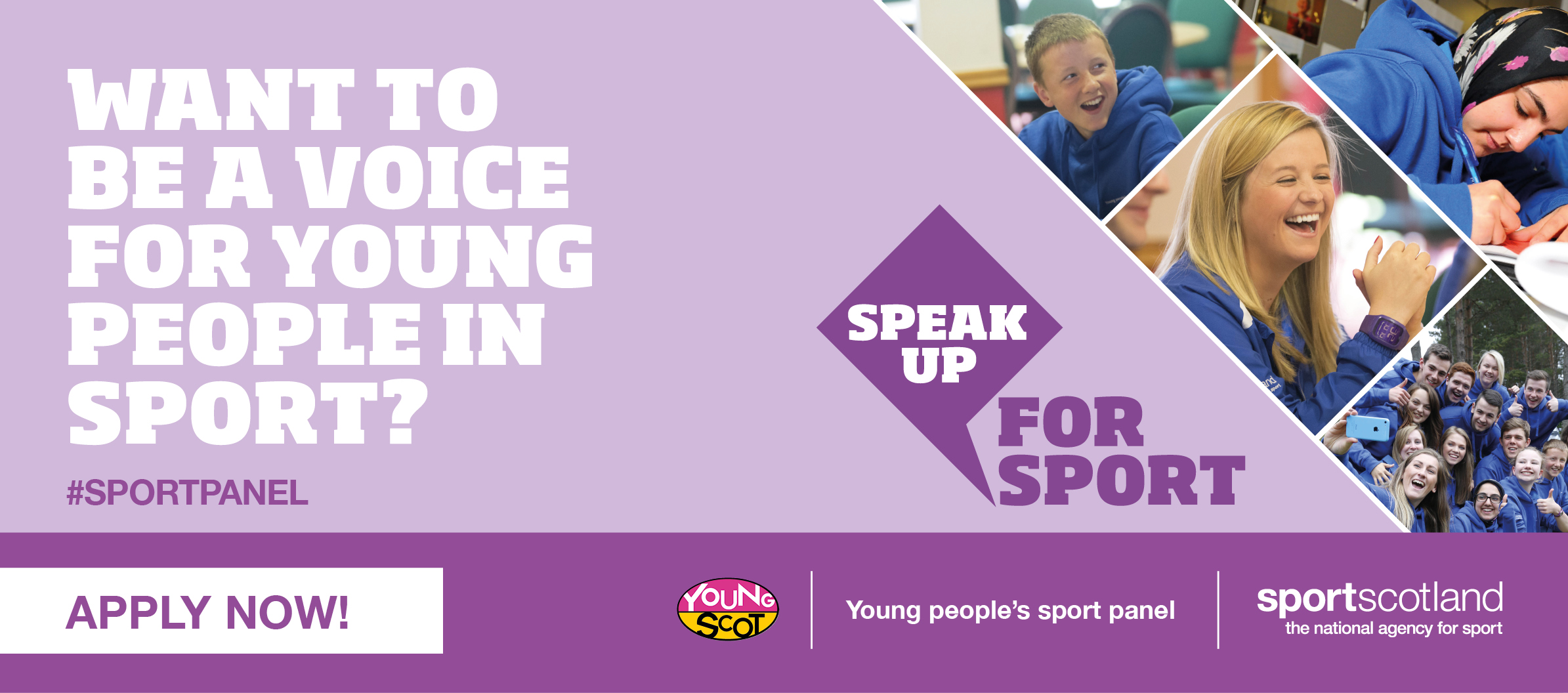 Calling all young sport activists