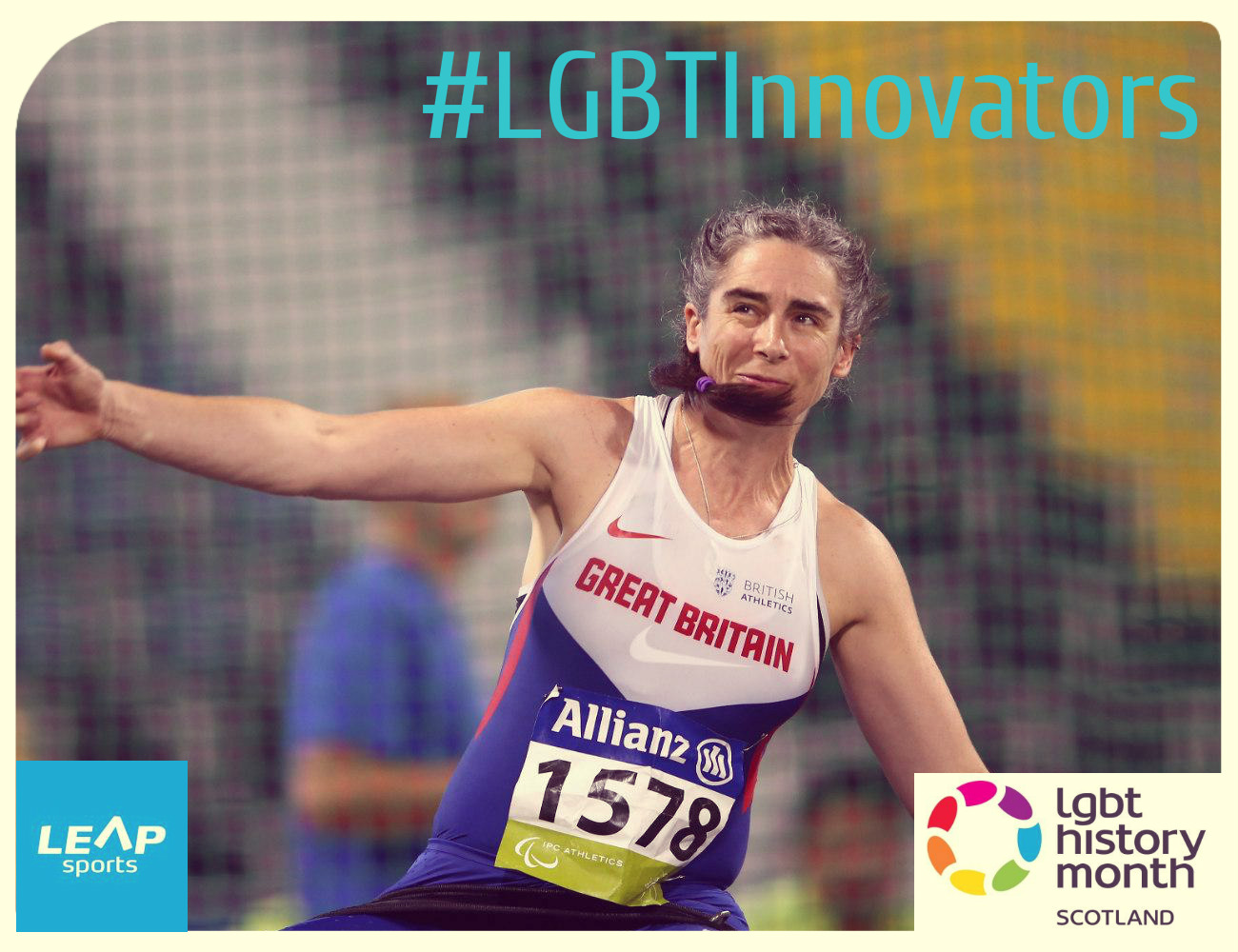 #LGBTInnovators - Paralympic Athlete Claire Harvey