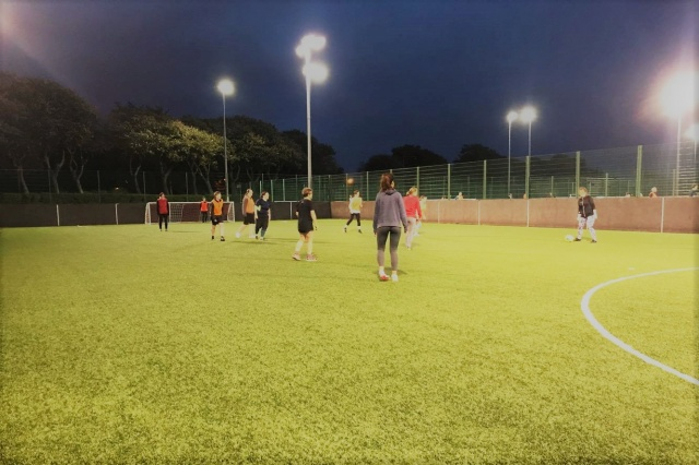 Ladies Recreational Football Taking Glasgow by Storm
