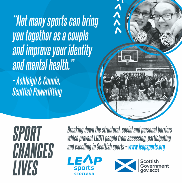 Sport Changes Lives... Ashleigh and Connie's Story