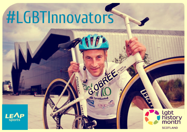 #LGBTInnovators - Cyclist Graeme Obree (The Flying Scotsman)