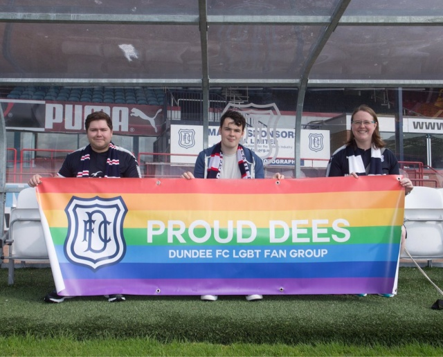 Dundee FC LGBT fan group launches