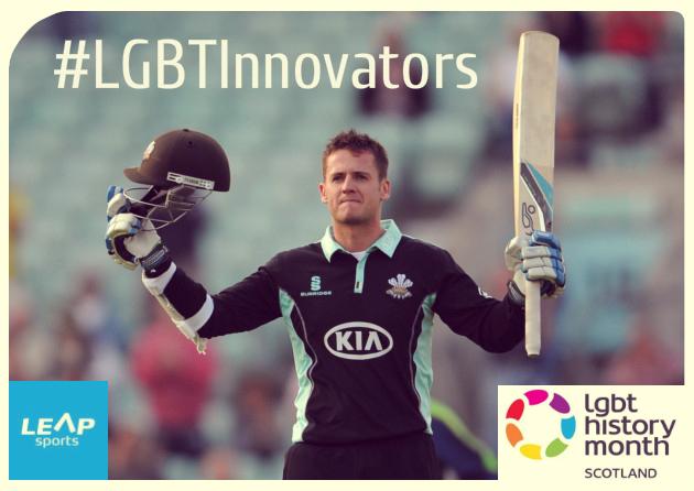 #LGBTInnovators - Cricketer Steven Davies