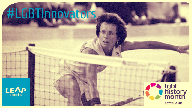 #LGBTInnovators - Former American No.1 Tennis Player Billie Jean King
