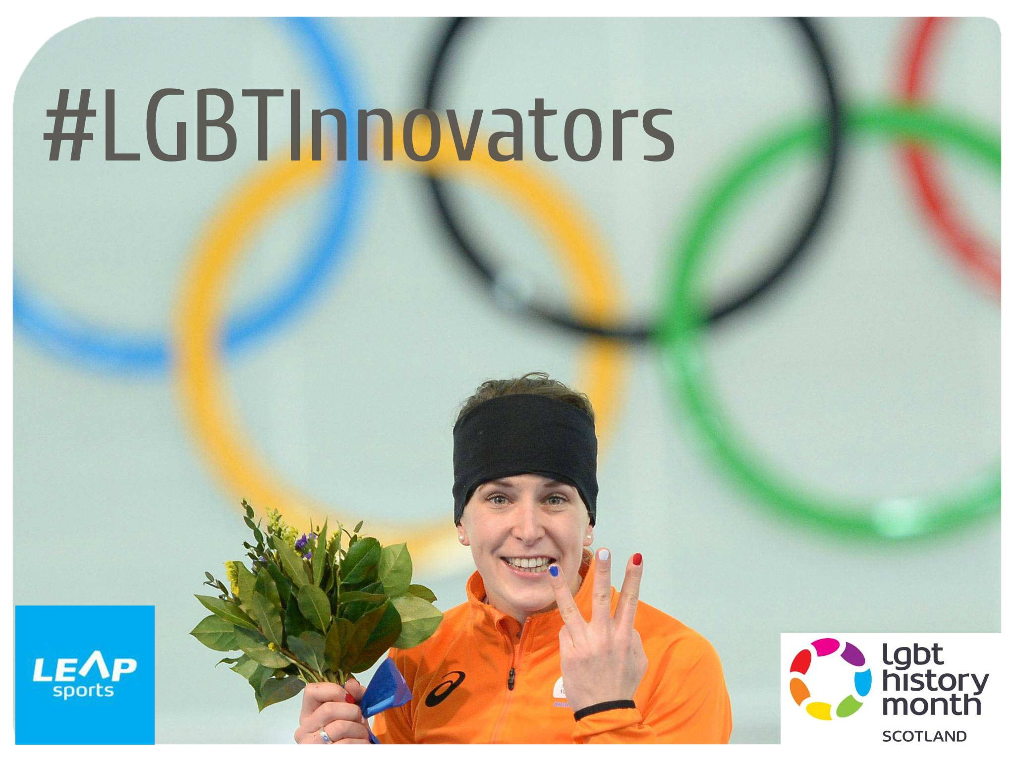 #LGBTInnovators - Dutch Speed Skater Ireen Wust