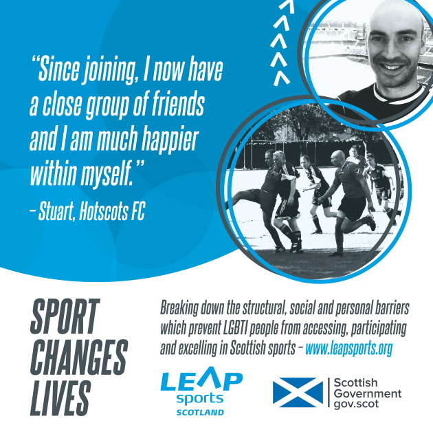 Sport Changes Lives... Stuart's Story