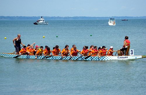 LGBT dragon boat team founded in North Carolina in response to anti-equal marriage law