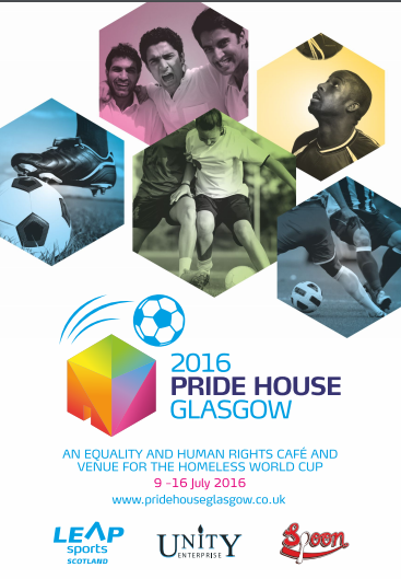 Pride House Glasgow 2016 programme launch